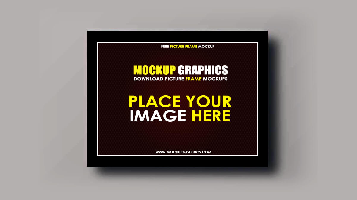 free photo frame mockup - www.mockupgrpahics.com