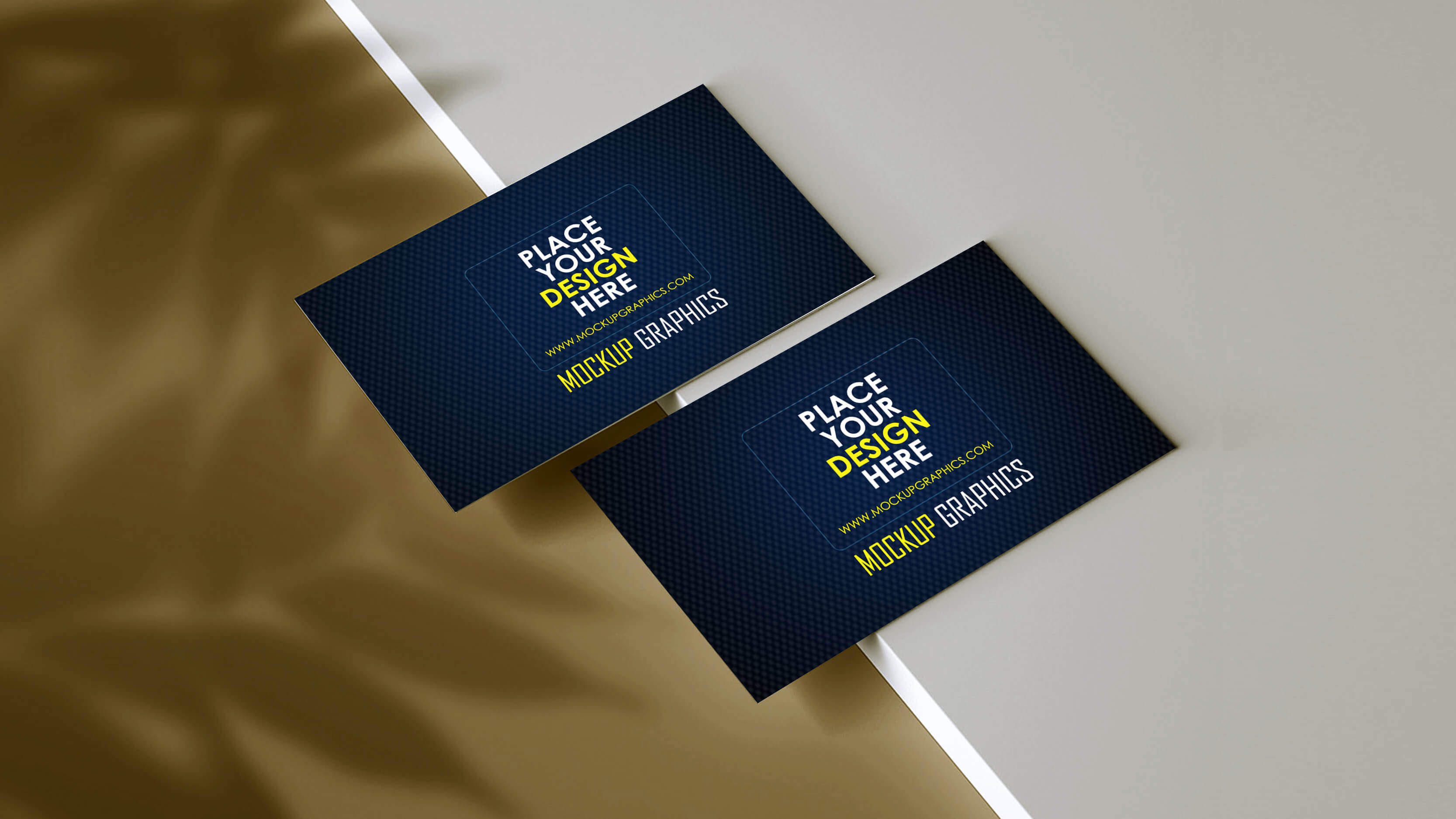 creative business card mockup - www.mockupgraphics.com