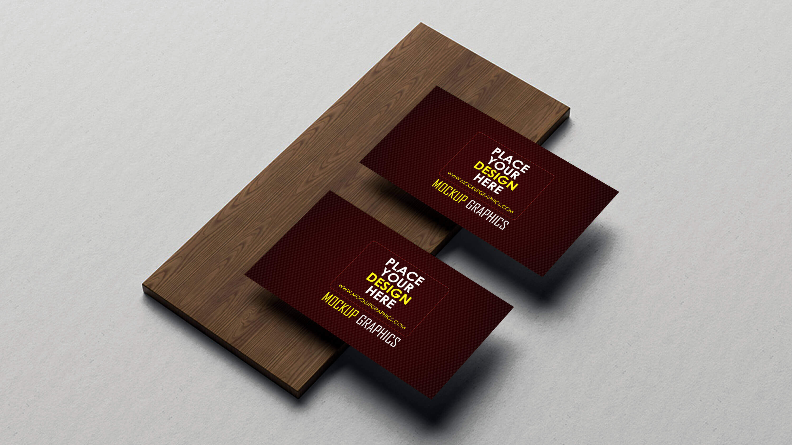 psd business card mockup - www.mockupgraphics.com
