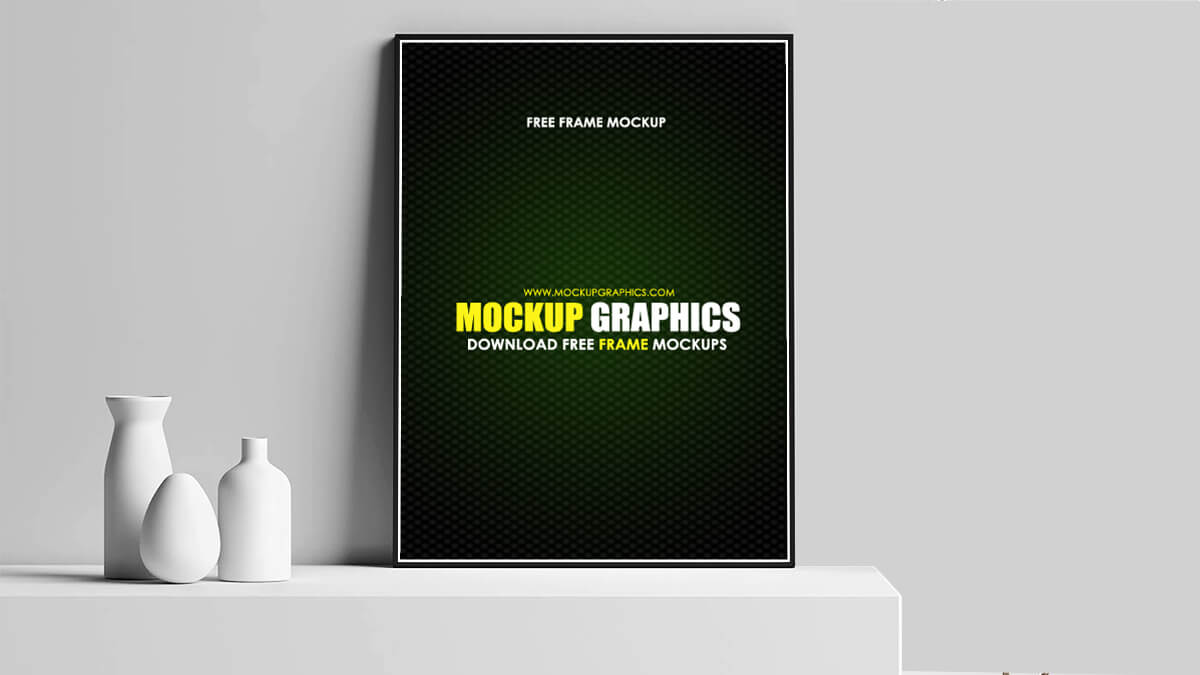 psd photo frame mockup - www.mockupgraphics.com