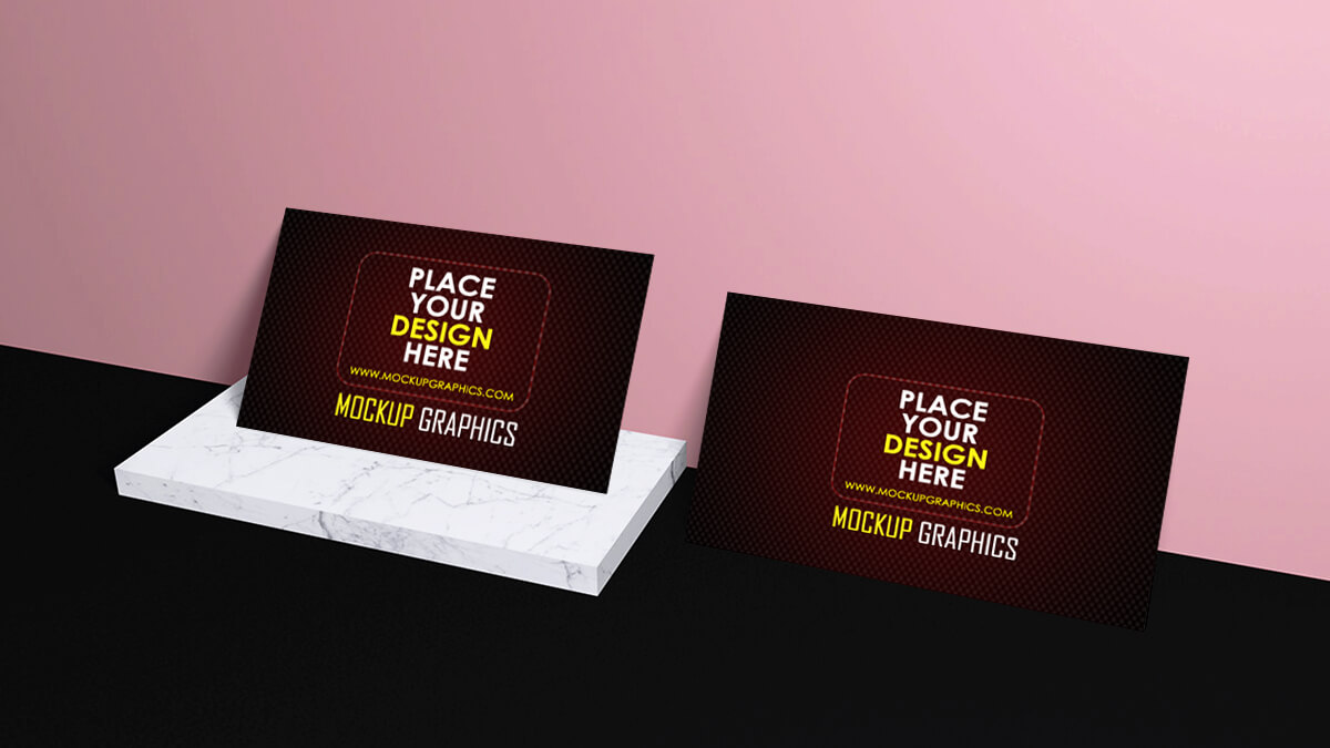 modern business card mockup - www.mockupgraphics.com