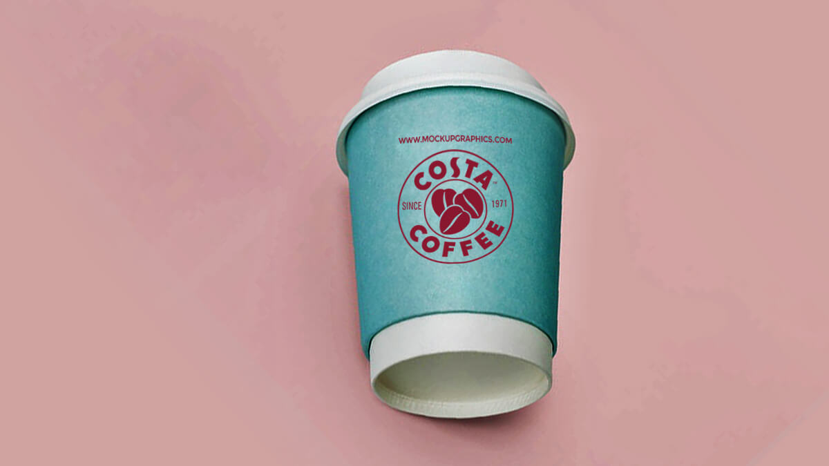 free paper coffee cup mockup - www.mockupgraphics.com