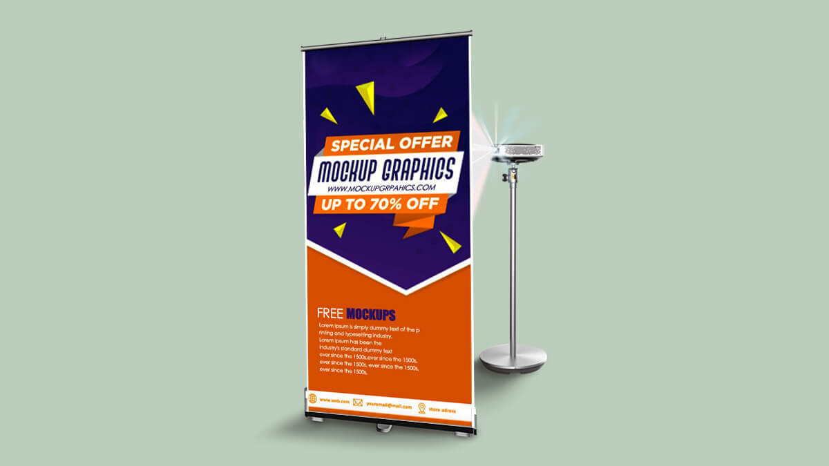 www.mockupgrahphics.com - roll-up banner mockup