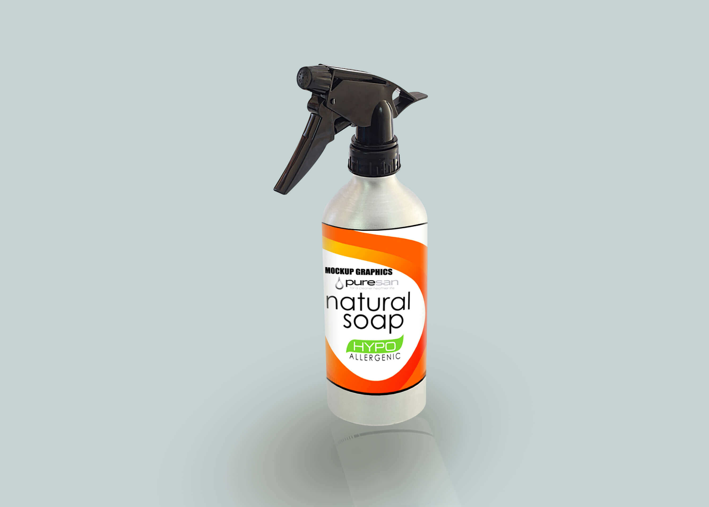 spray trigger bottle mockup - www.mockupgraphics.com