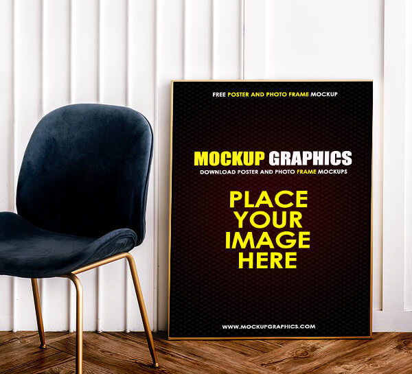 free photo frame mockup - www.mockupgraphics.com