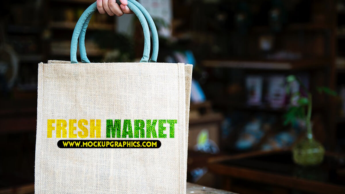 Shopping Bag Mockups PSD Free