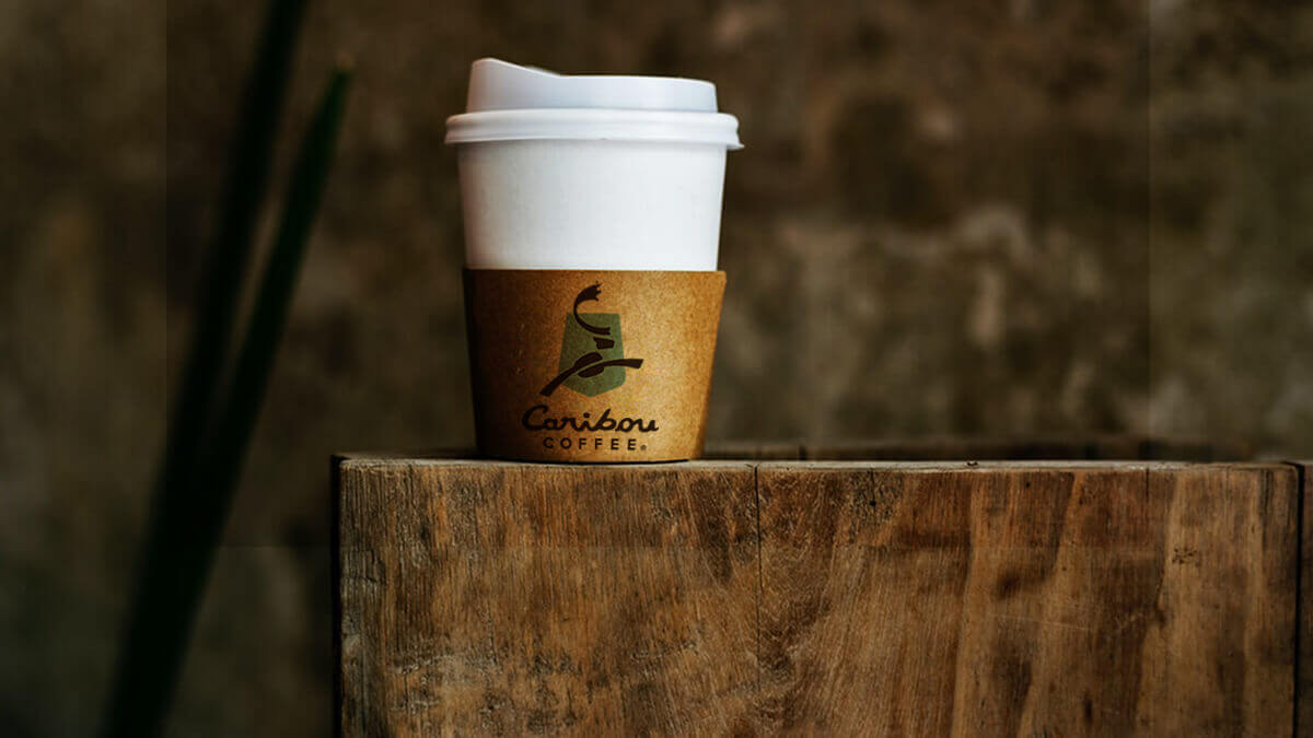 Coffee Cup Holder Mockup Free