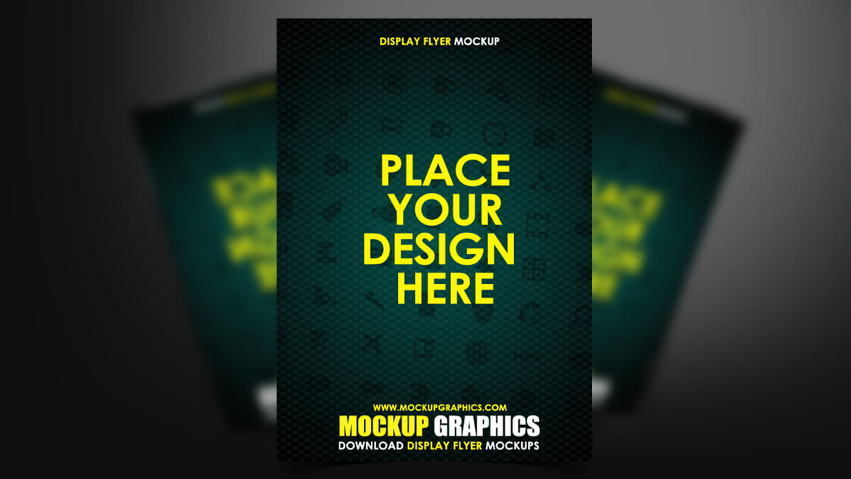 Display Flyer Mockup