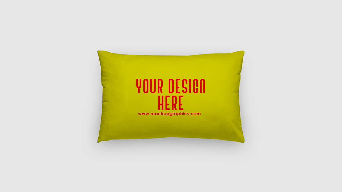 Lumbar Pillow Mockup