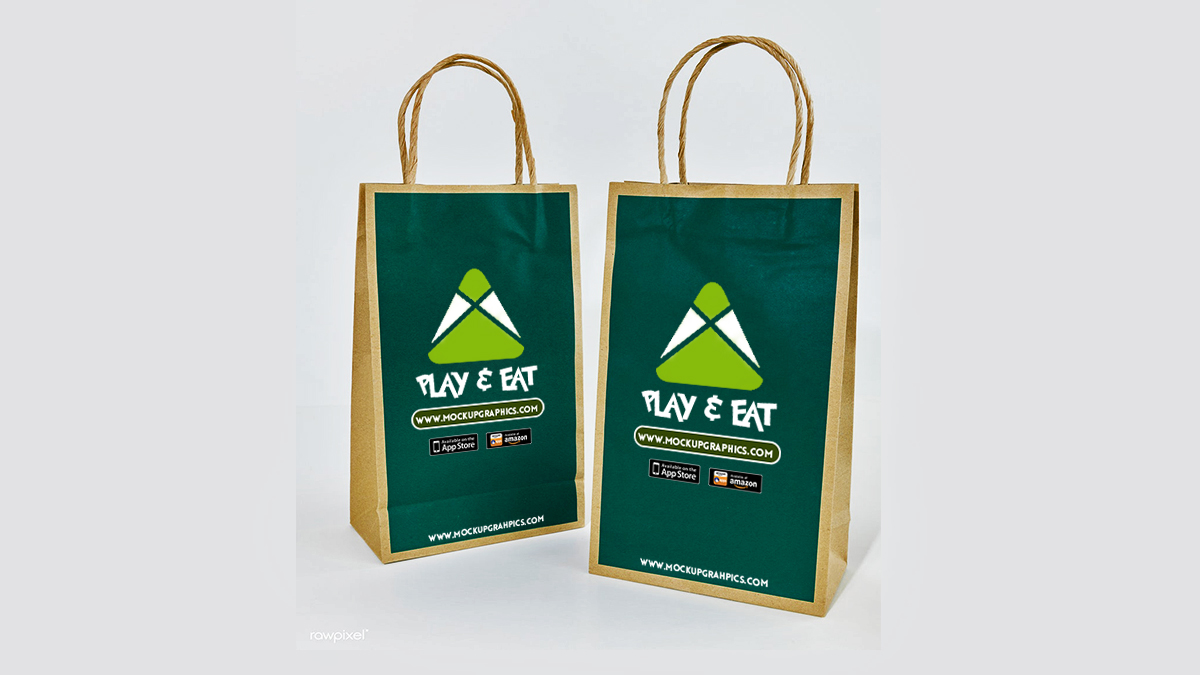 Luxury Shopping Bag Mockup