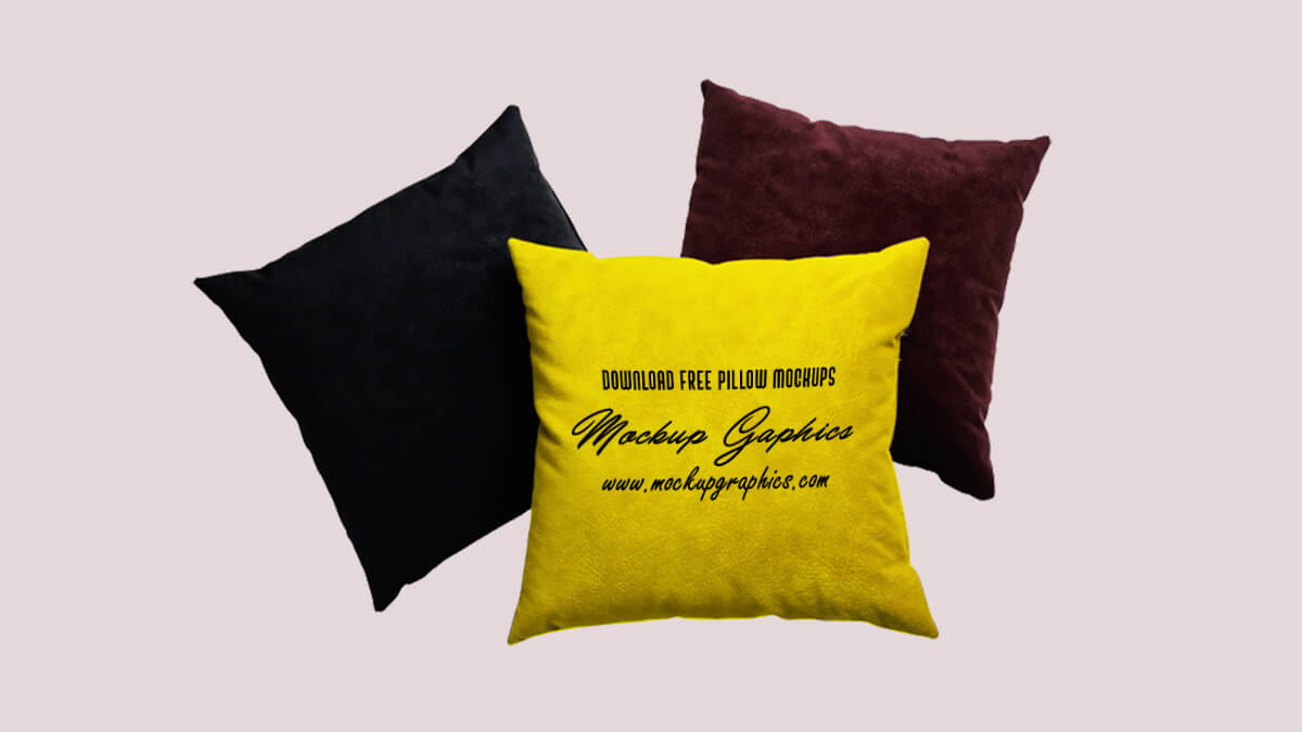 Pillow Pack Mockup PSD