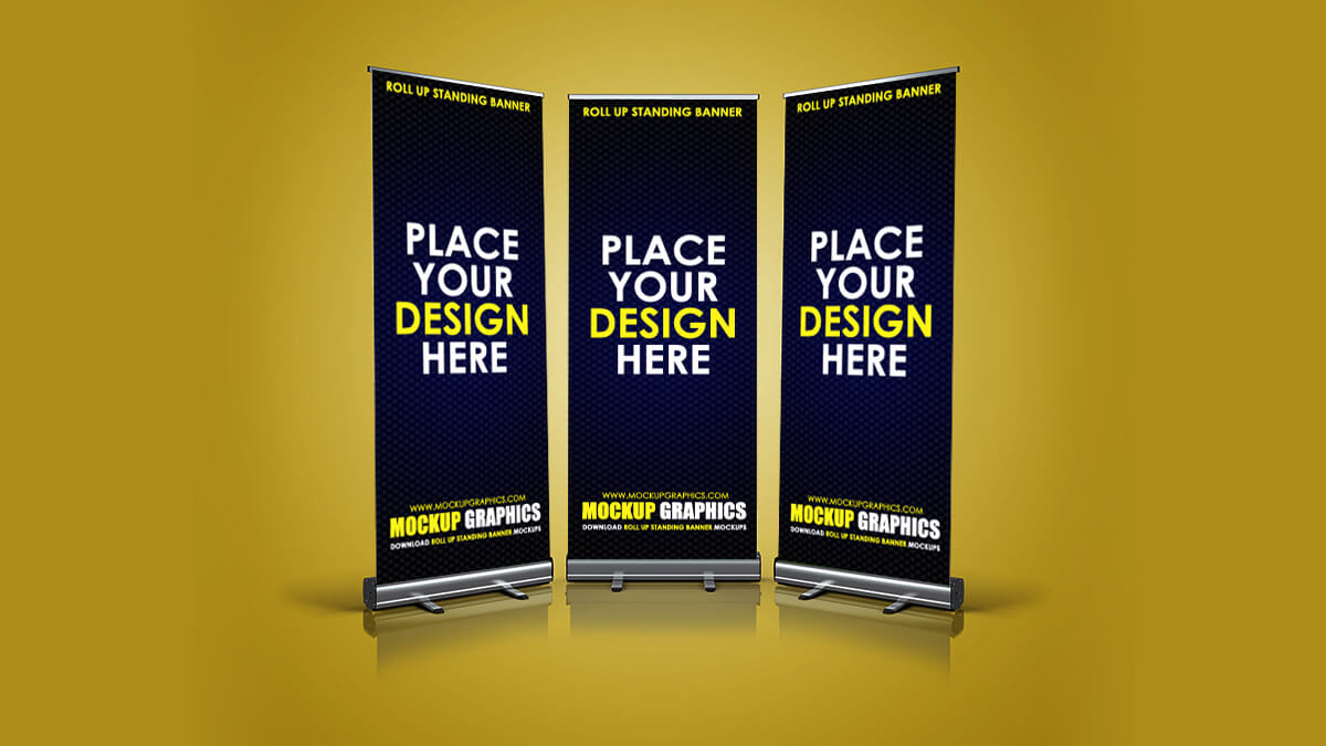 Roll Up Standing Banner