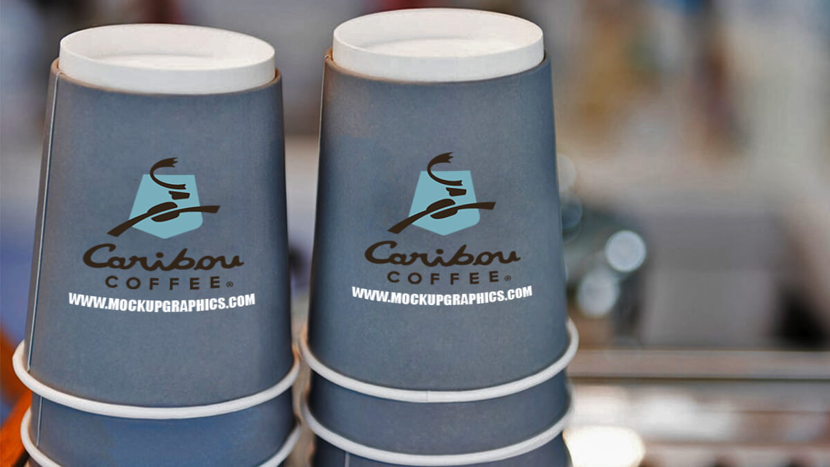 Takeaway Coffee Cup Mockup Free