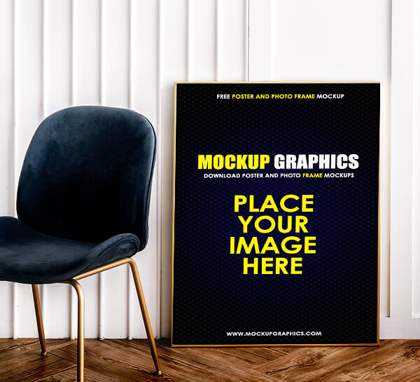 Poster And Photo Frame Mockup